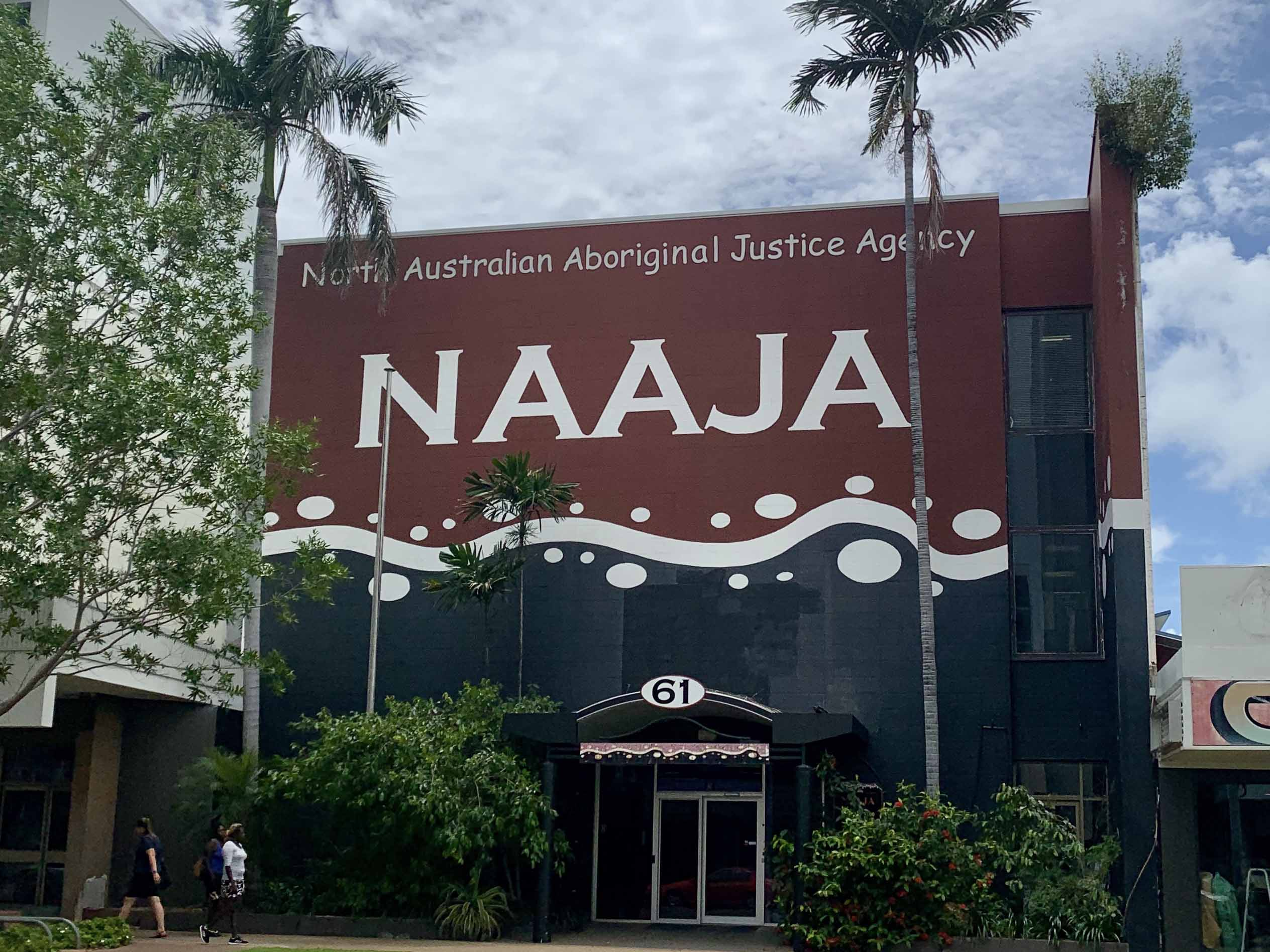 NAAJA Office in Darwin